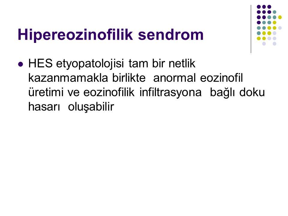 Hipereozinofilik sendrom
