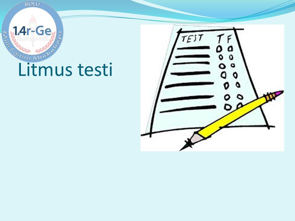 Litmus testi
