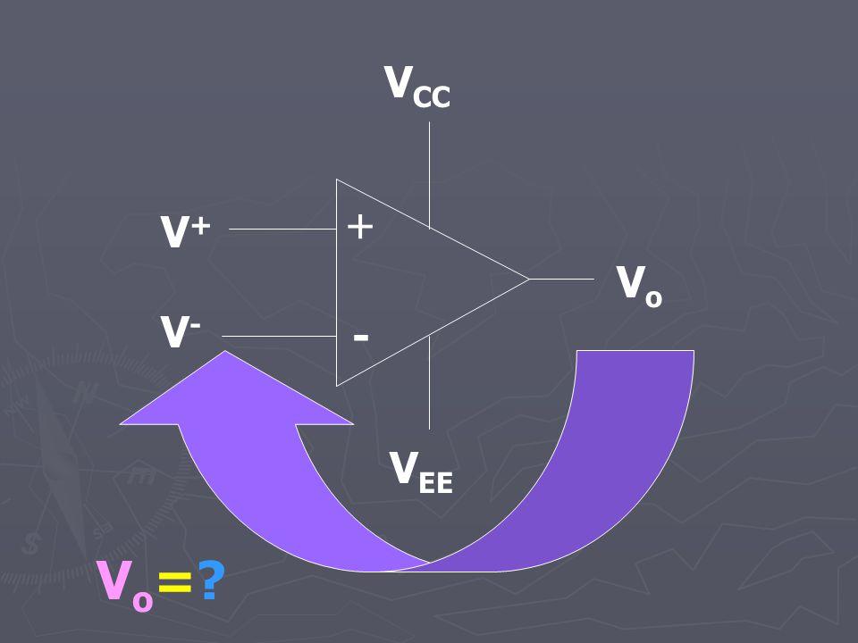 VCC + V+ Vo V- - VEE Vo=