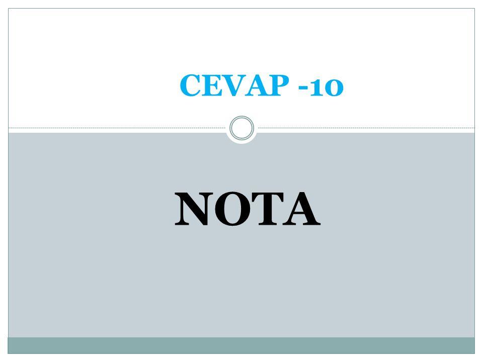 CEVAP -10 NOTA