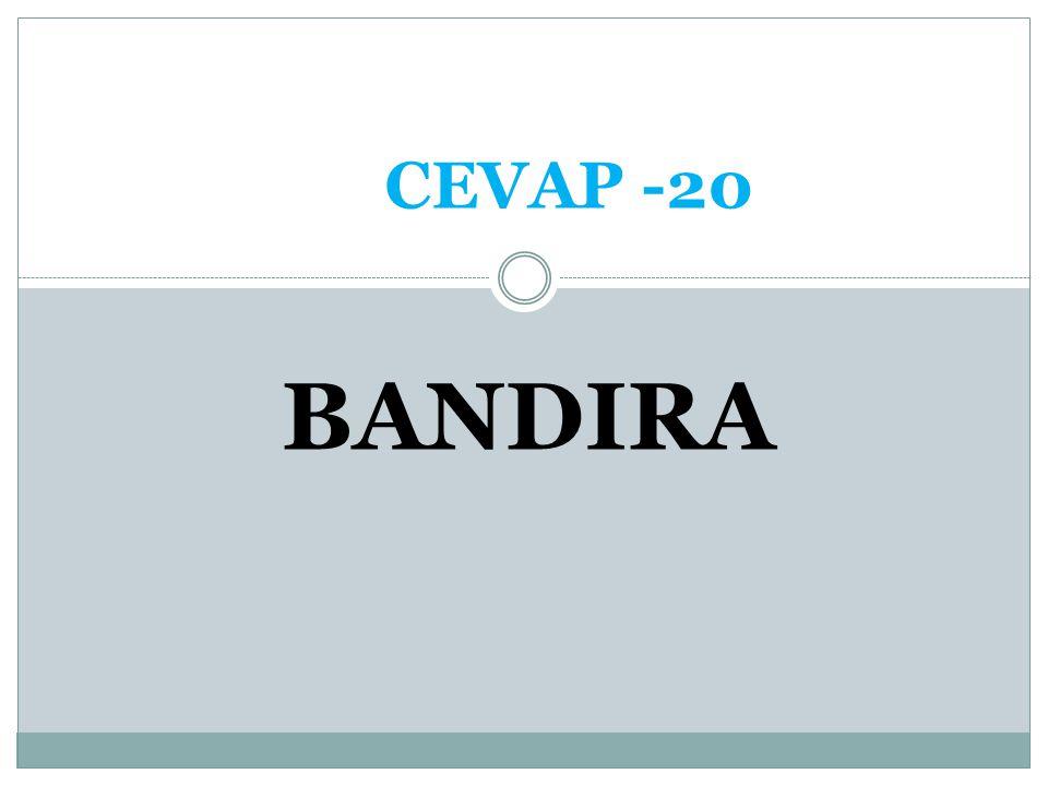 CEVAP -20 BANDIRA