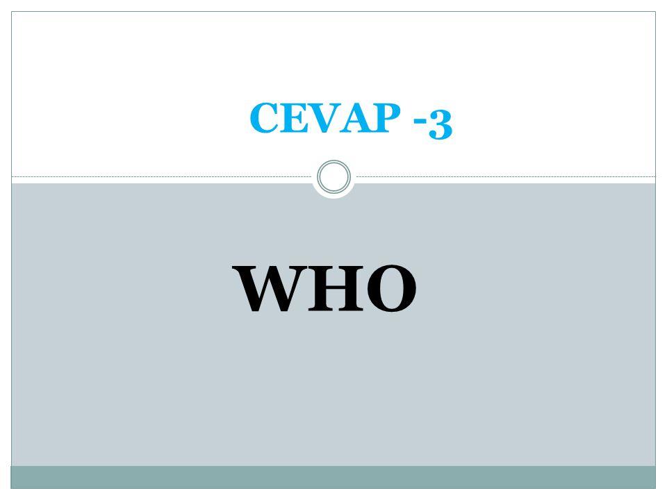 CEVAP -3 WHO