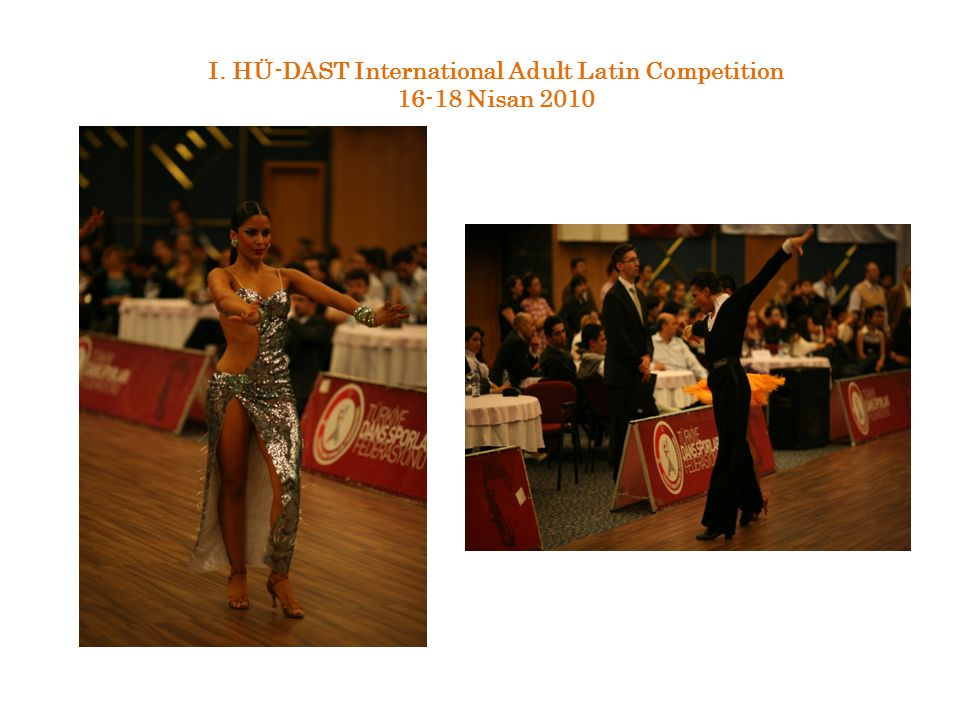 I. HÜ-DAST International Adult Latin Competition