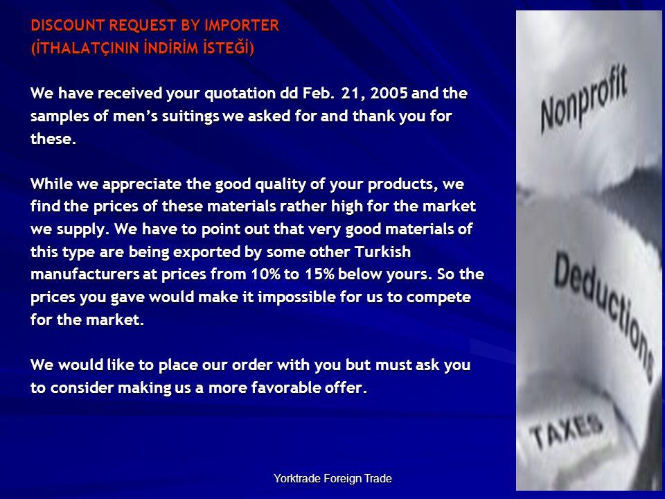 Yorktrade Foreign Trade