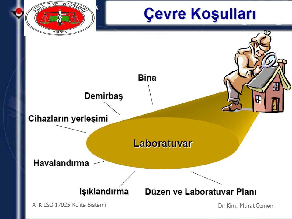 ATK ISO 17025 Kalite Sistemi Dr. Kim. Murat Özmen 41