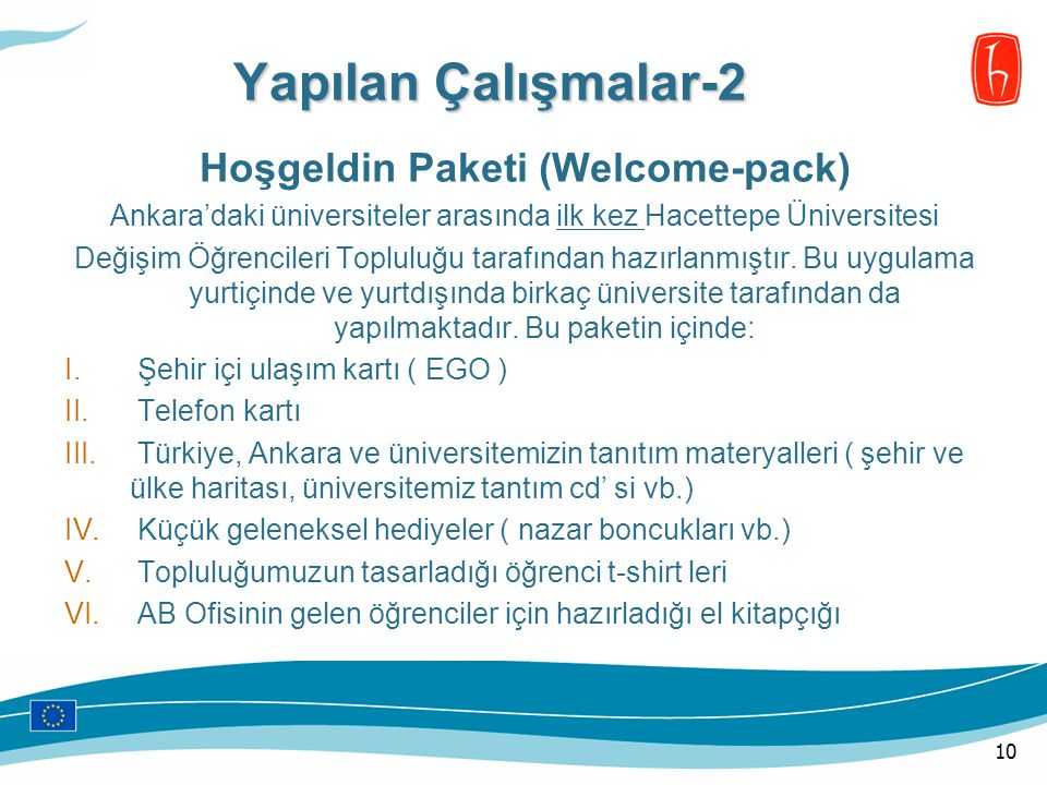 Hoşgeldin Paketi (Welcome-pack)