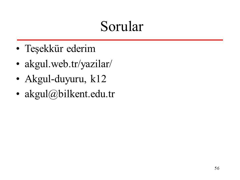Sorular Teşekkür ederim akgul.web.tr/yazilar/ Akgul-duyuru, k12