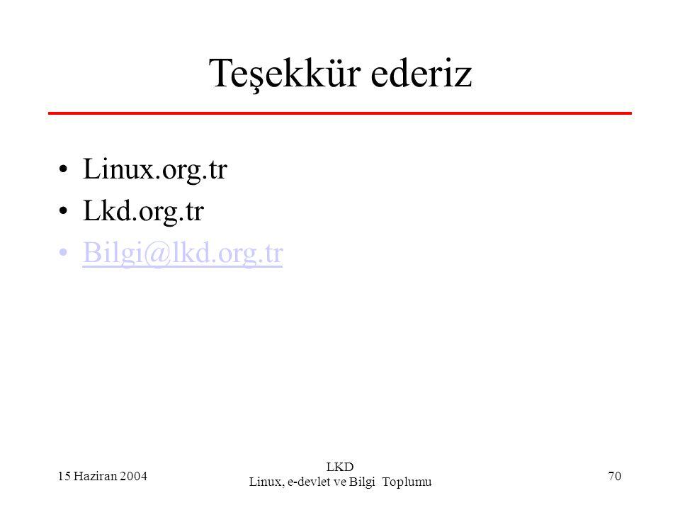 Linux, e-devlet ve Bilgi Toplumu