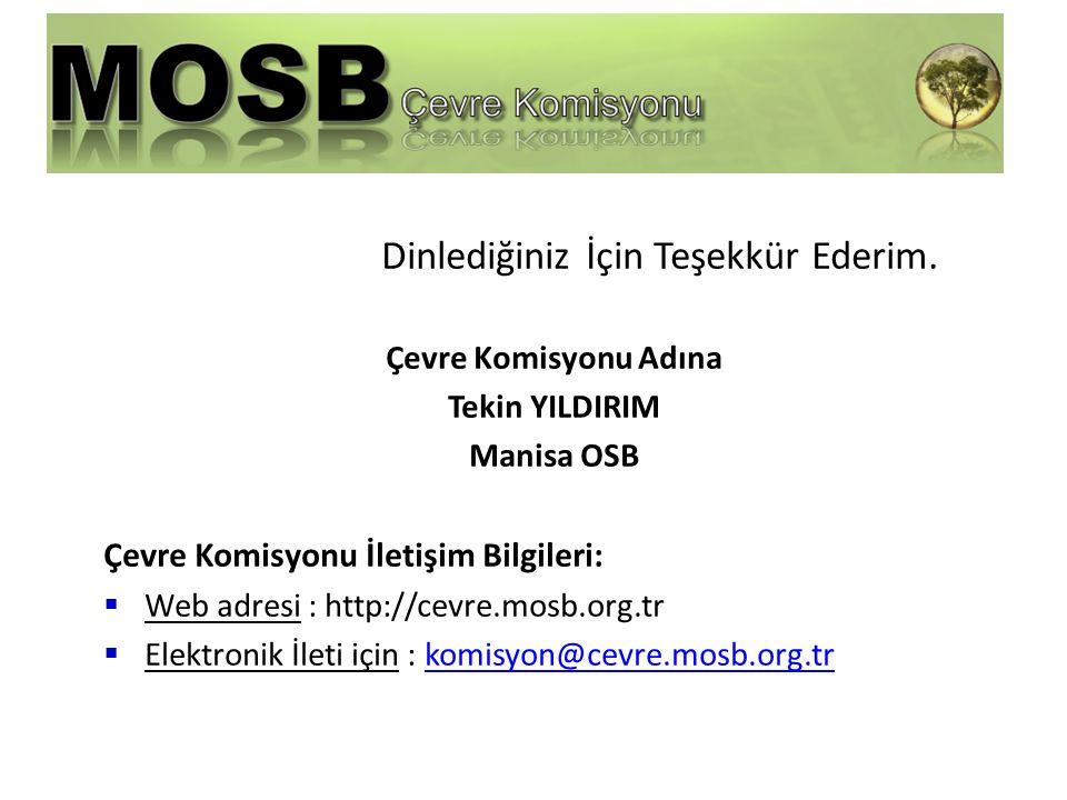 Çevre Komisyonu İletişim Bilgileri: