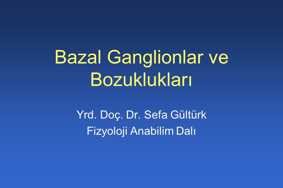 Bazal Ganglionlar ve Bozuklukları