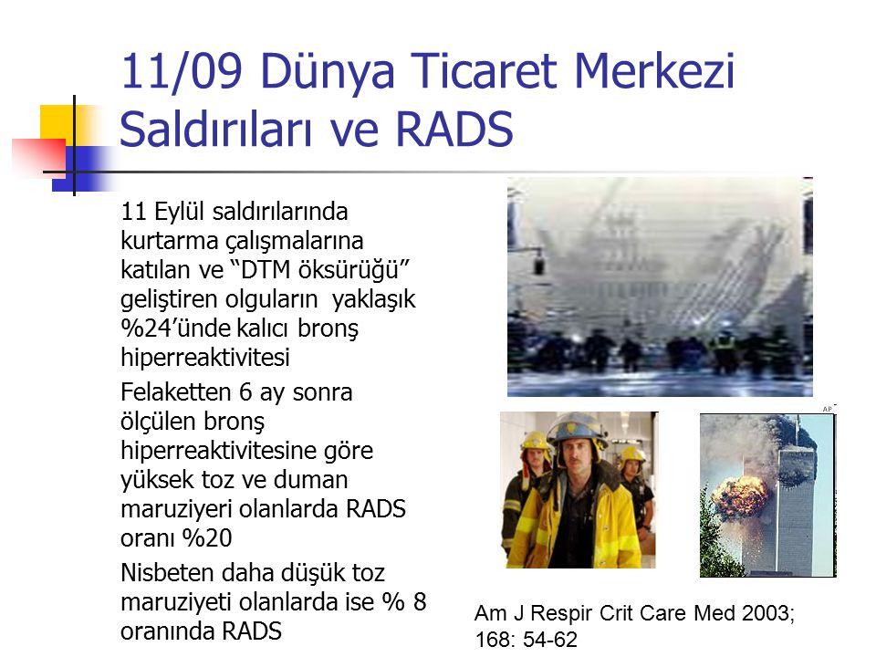 11/09 Dünya Ticaret Merkezi Saldırıları ve RADS