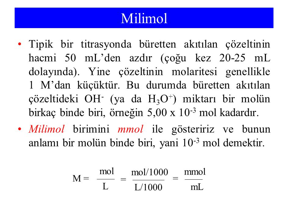 Milimol