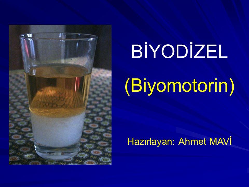 Hazırlayan: Ahmet MAVİ