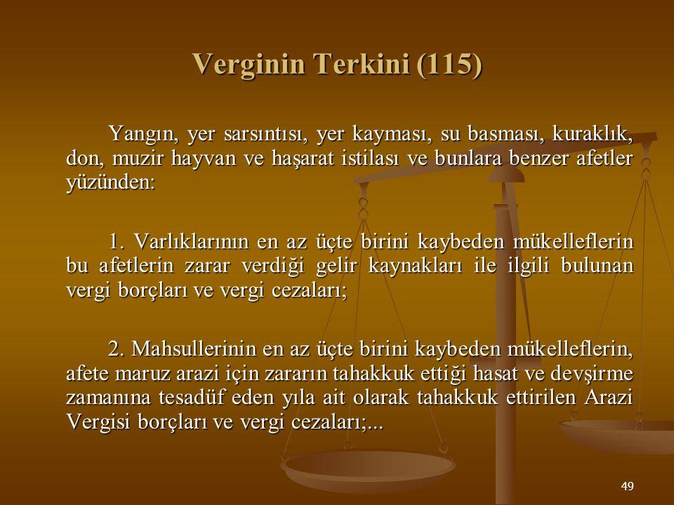 Verginin Terkini (115)