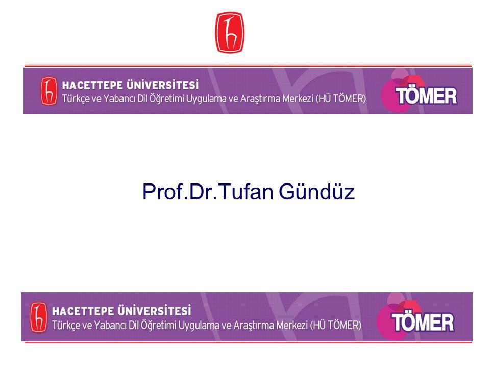 Prof.Dr.Tufan Gündüz