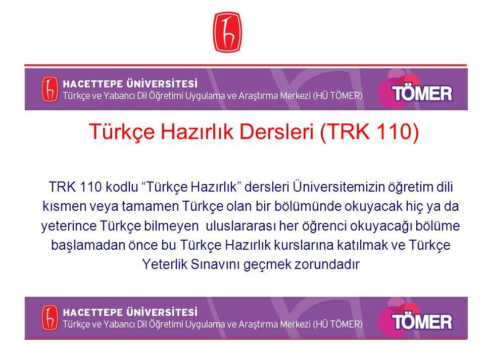 Türkçe Hazırlık Dersleri (TRK 110)
