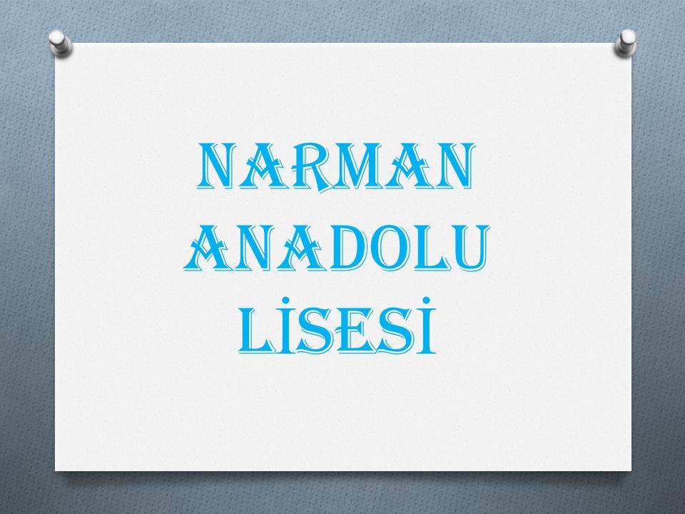NARMAN ANADOLU LİSESİ