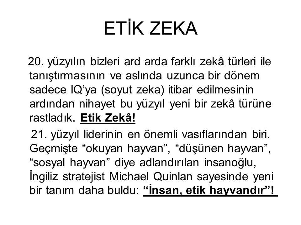 ETİK ZEKA