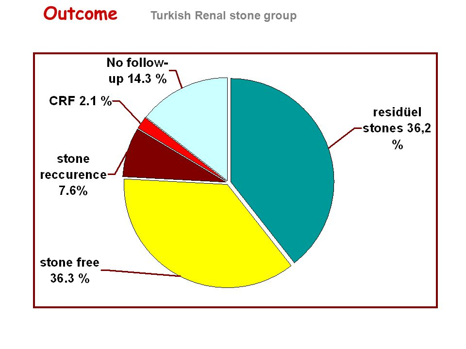 Outcome Turkish Renal stone group