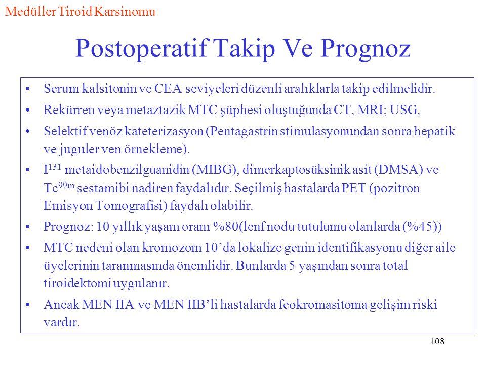 Postoperatif Takip Ve Prognoz