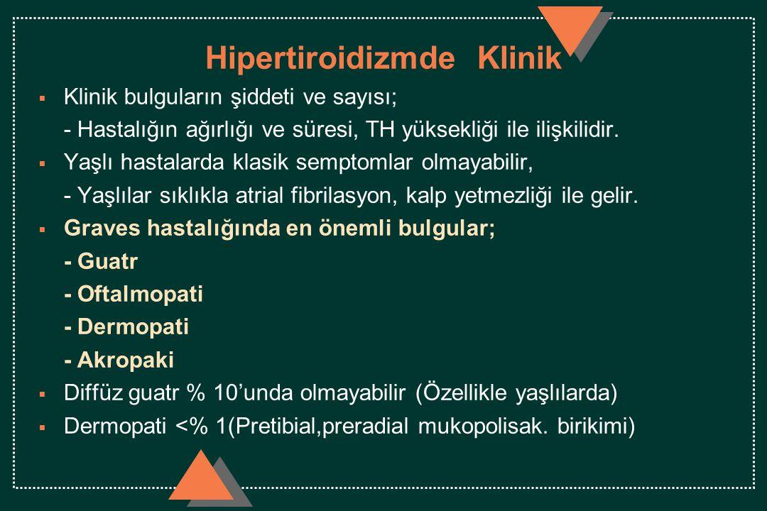Hipertiroidizmde Klinik