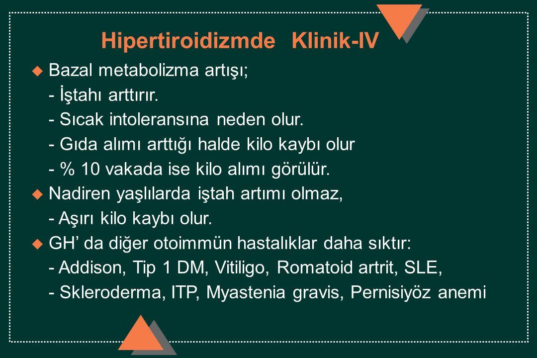 Hipertiroidizmde Klinik-IV