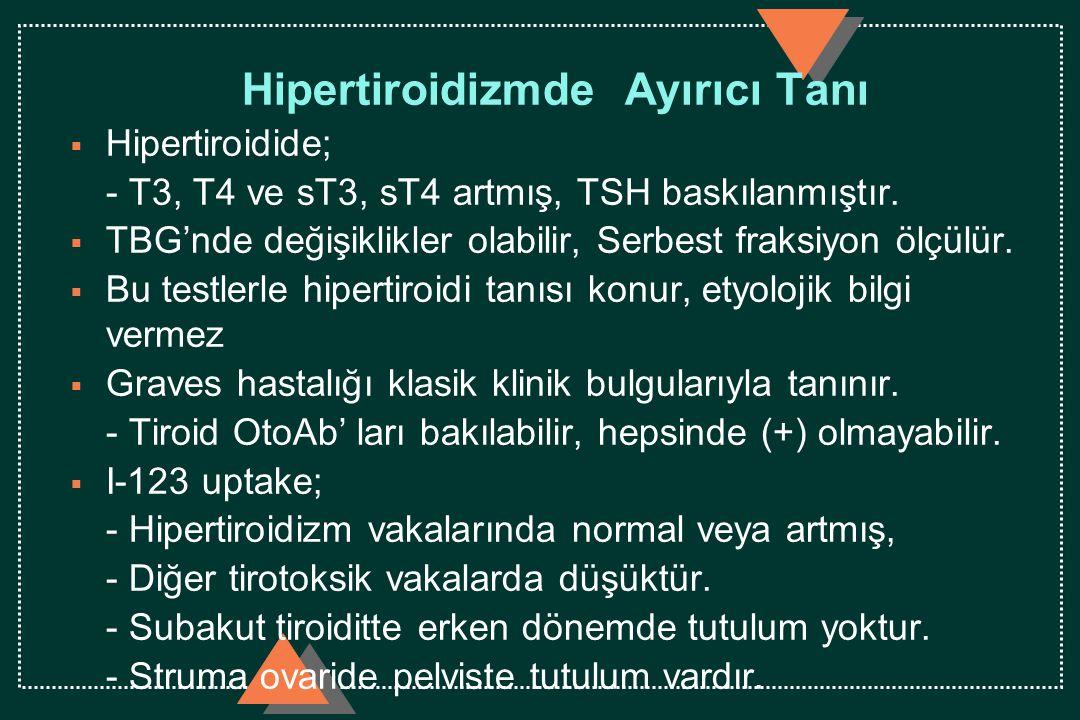 Hipertiroidizmde Ayırıcı Tanı