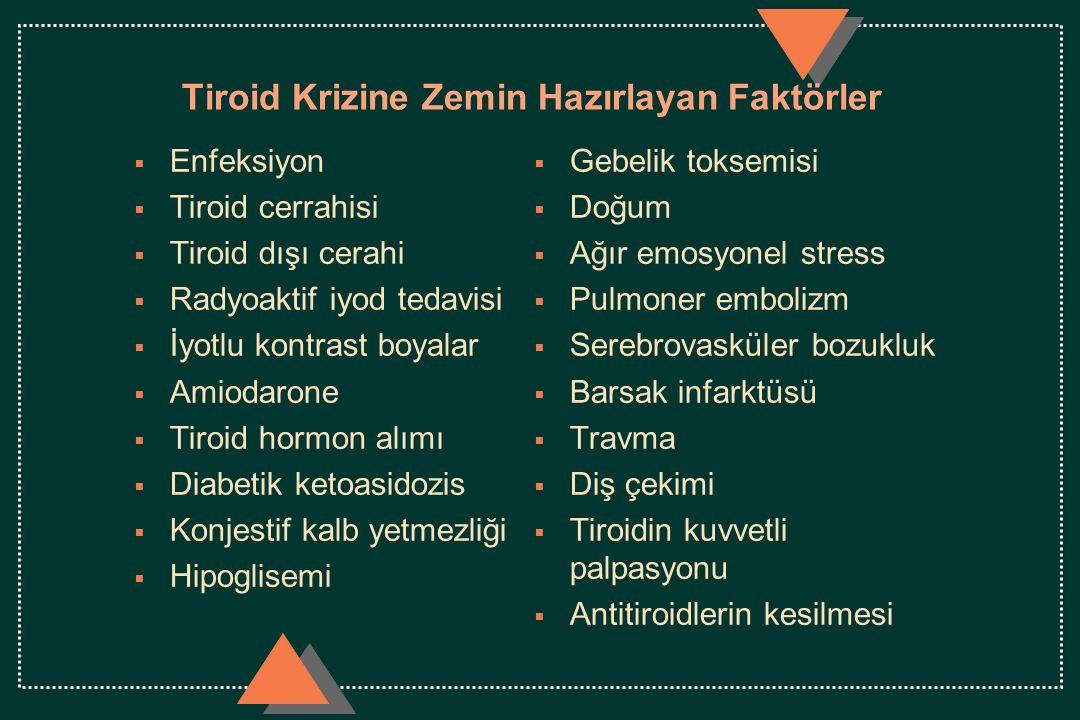 Tiroid Krizine Zemin Hazırlayan Faktörler