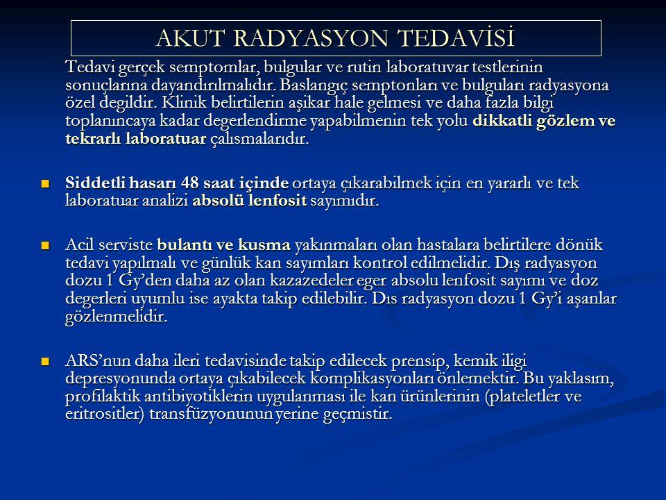 AKUT RADYASYON TEDAVİSİ