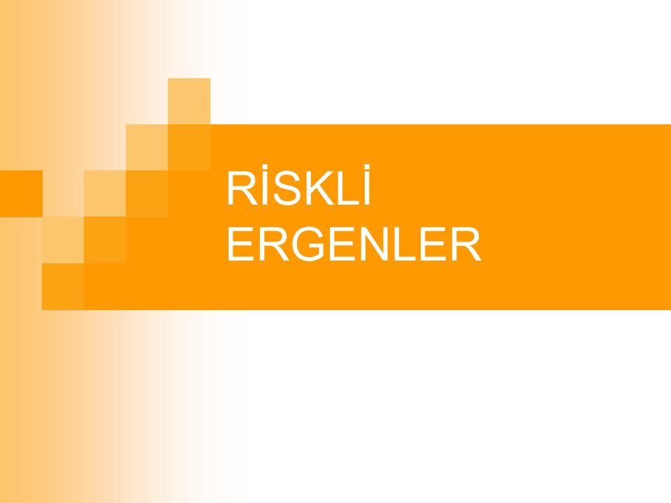 RİSKLİ ERGENLER
