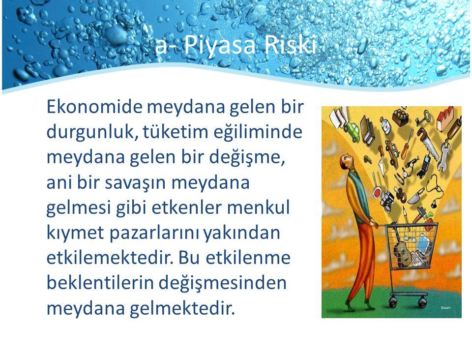 a- Piyasa Riski