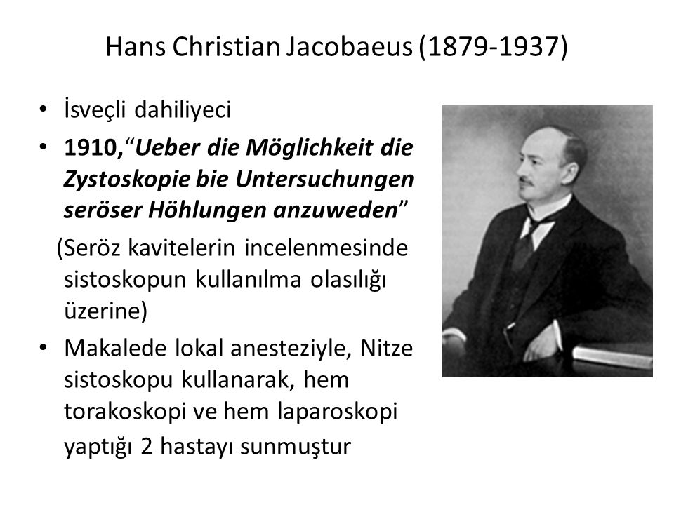 Hans Christian Jacobaeus (1879-1937)