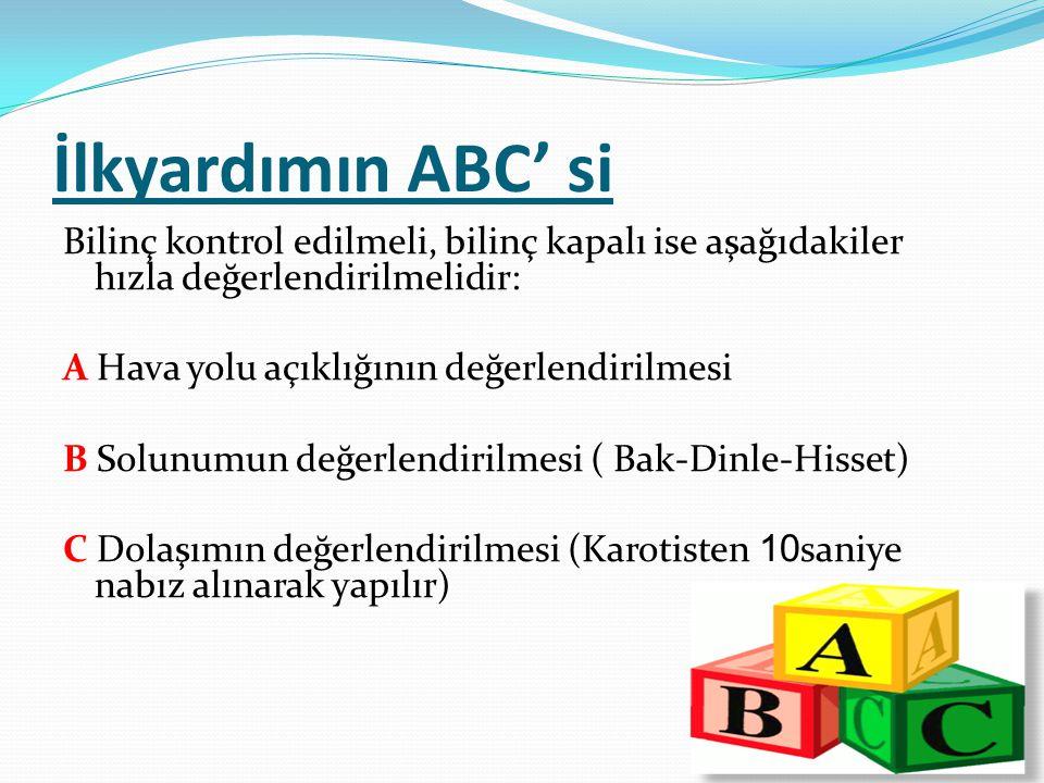 İlkyardımın ABC' si