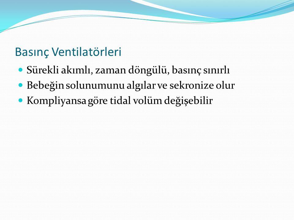 Basınç Ventilatörleri