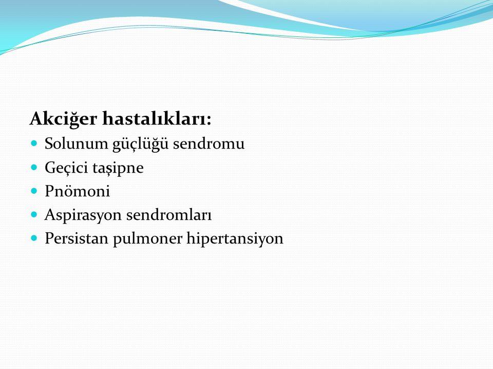 Akciğer hastalıkları: