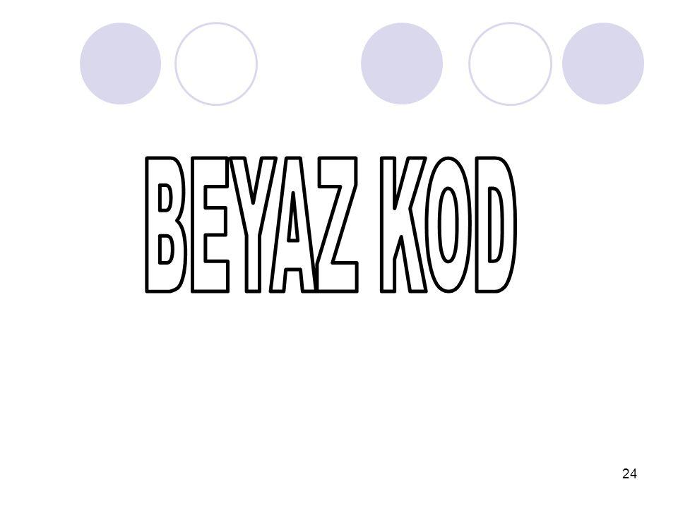 BEYAZ KOD