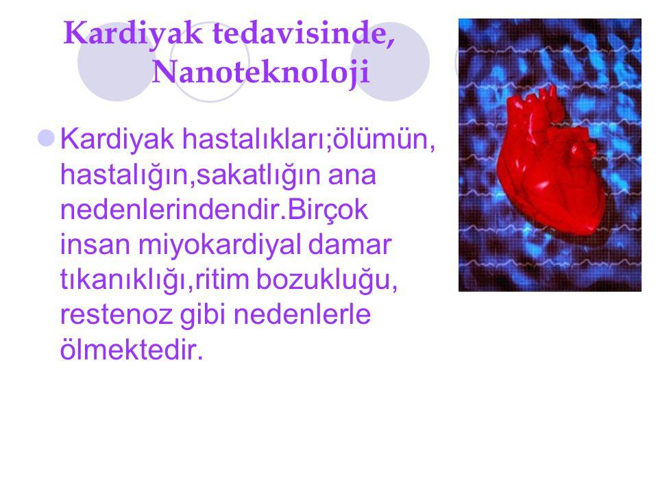 Kardiyak tedavisinde, Nanoteknoloji