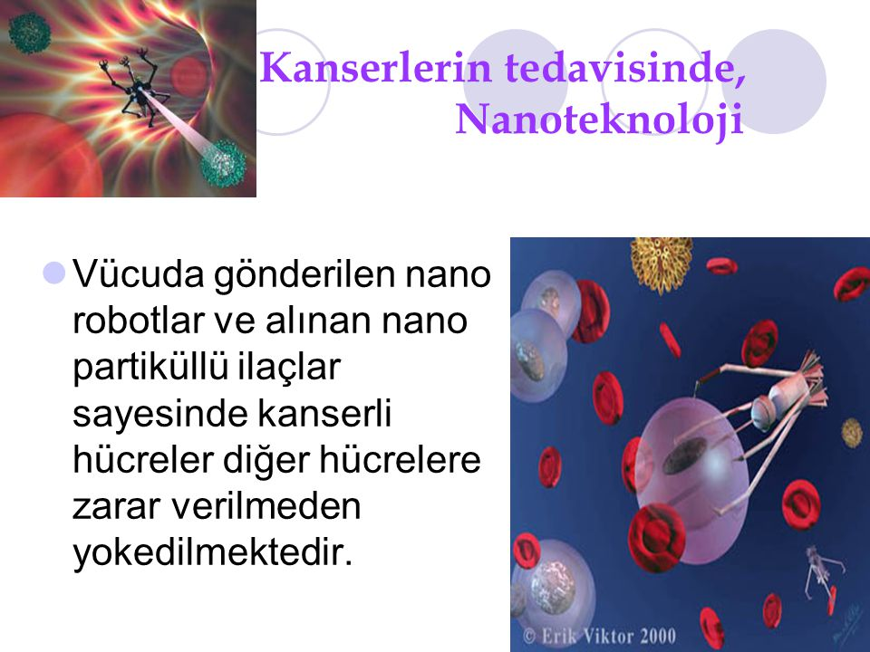 Kanserlerin tedavisinde, Nanoteknoloji