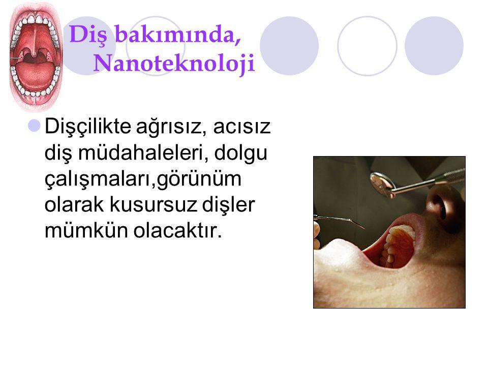 Diş bakımında, Nanoteknoloji