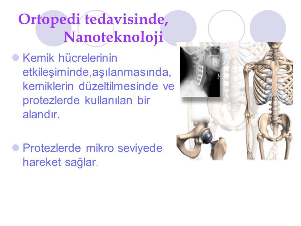 Ortopedi tedavisinde, Nanoteknoloji