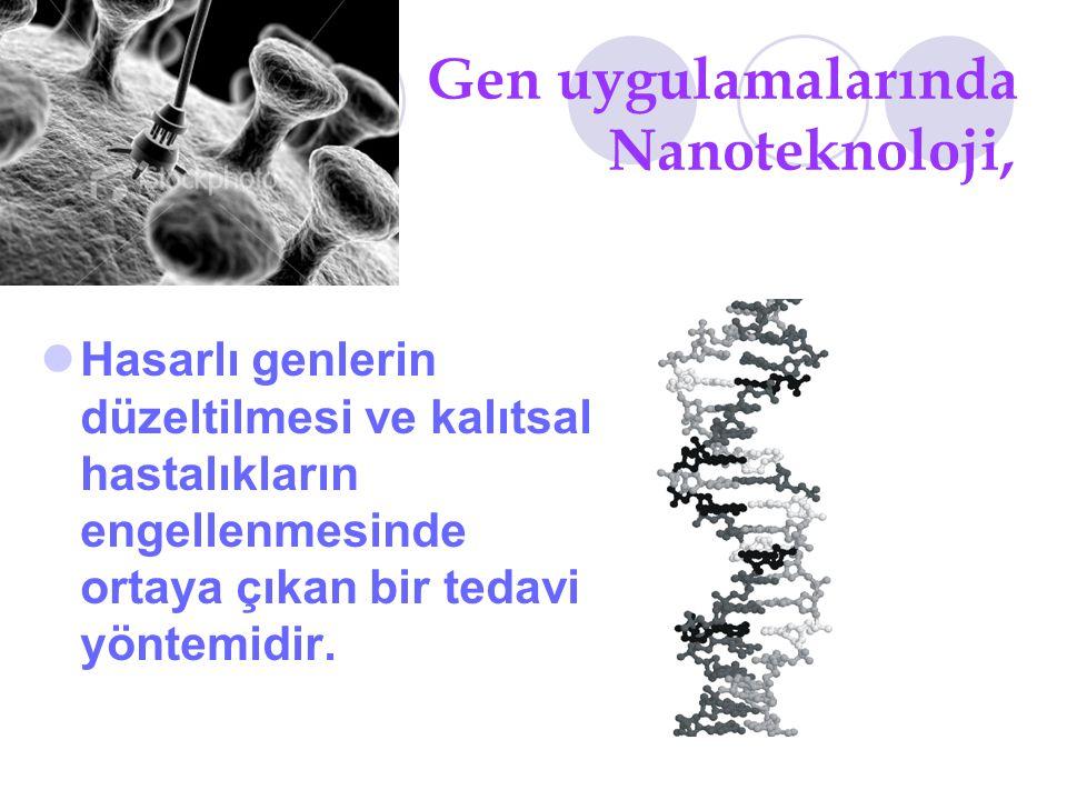 Gen uygulamalarında Nanoteknoloji,