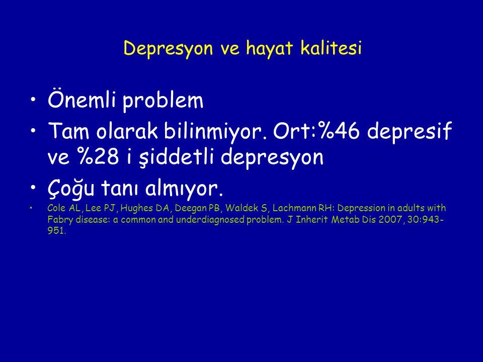 Depresyon ve hayat kalitesi