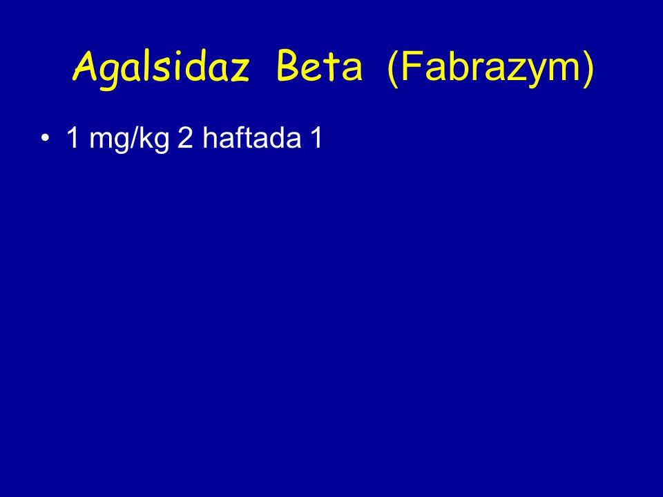 Agalsidaz Beta (Fabrazym)