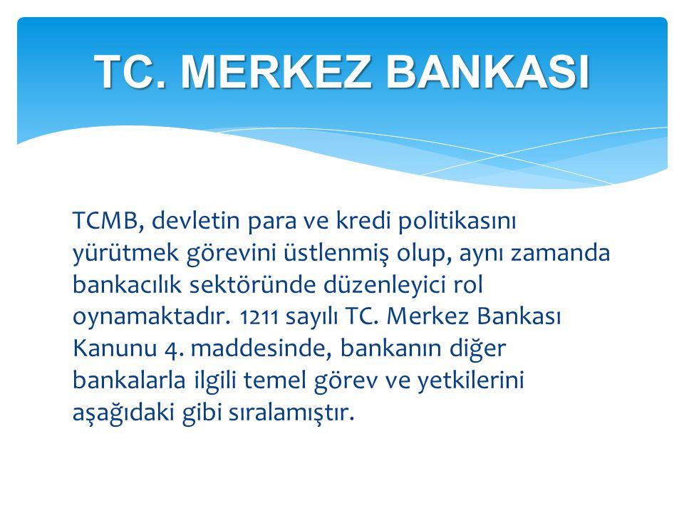 TC. MERKEZ BANKASI