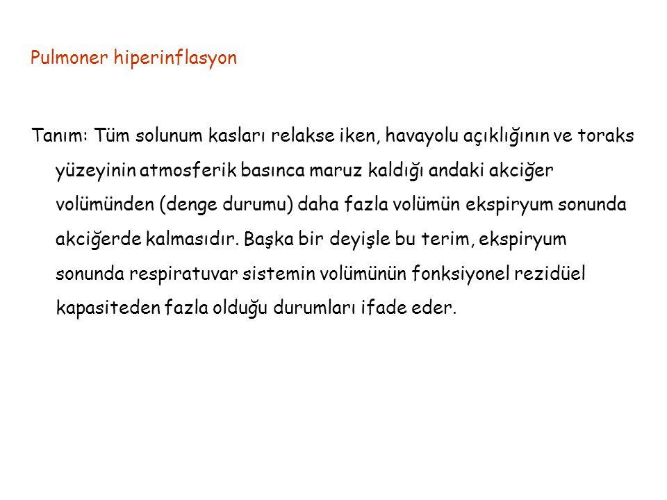 Pulmoner hiperinflasyon