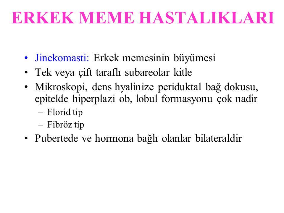 ERKEK MEME HASTALIKLARI