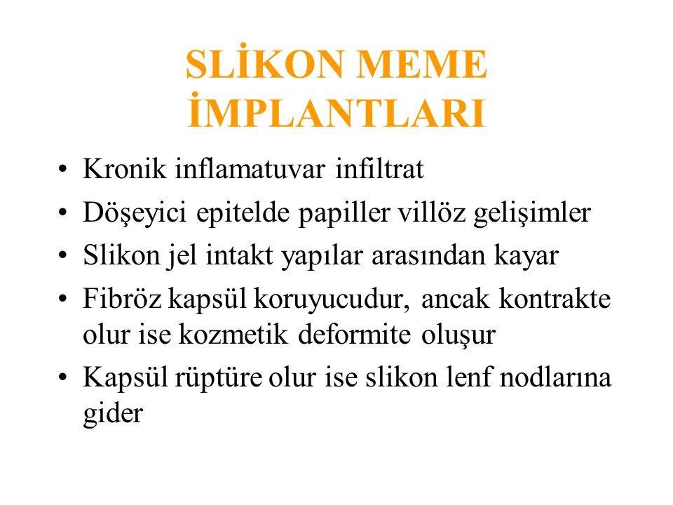 SLİKON MEME İMPLANTLARI