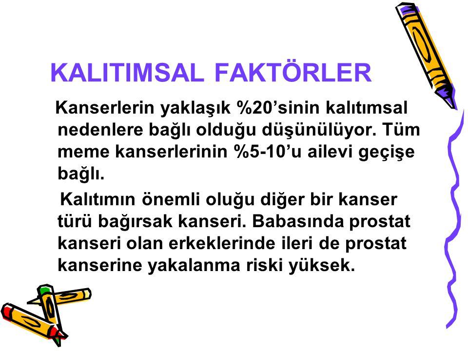 KALITIMSAL FAKTÖRLER