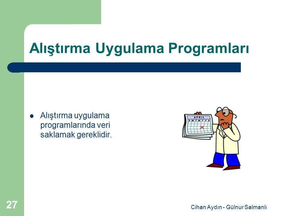 Alıştırma Uygulama Programları