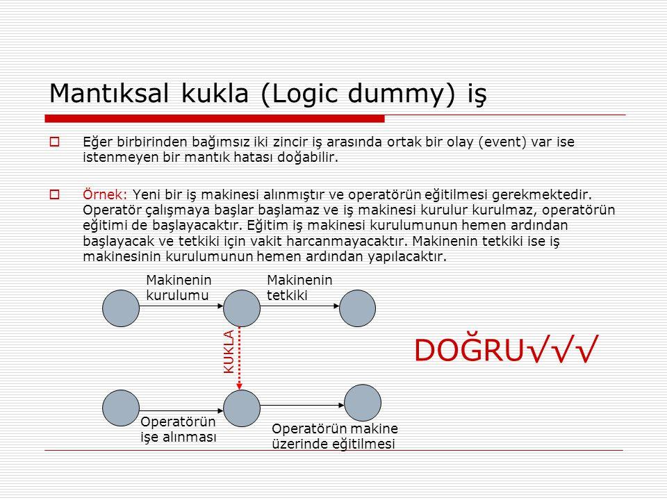 Mantıksal kukla (Logic dummy) iş